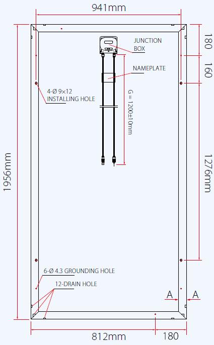 TrinaSolar TSM-315PD14 315W Poly Solar Panel